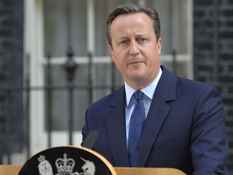David Cameron announces his resignation as Prime Minister in the wake of the UK vote on EU membership.