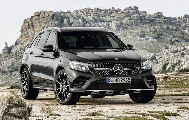 Mercedes GLC estate