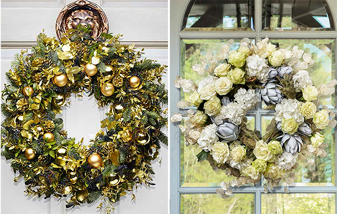 Four Christmas Wreaths To Brighten Up Any Home