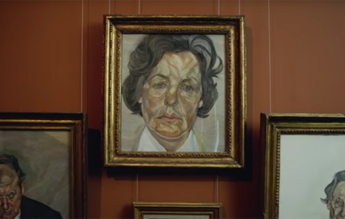 Lucian Freud's 'Woman in white shirt'