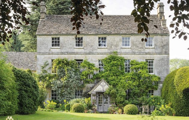 mary keen's cotswold home