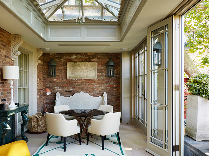 Eight magnificent conservatories that bring light space and previously an open roof terrace subject to the vagaries of the british weather a lantern roof and full height glazed doors and windows make this space into aloadofball Image collections