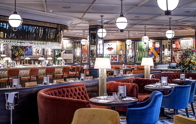 The Ivy Soho Brasserie Review Room To Relax In A Blake Inspired Space