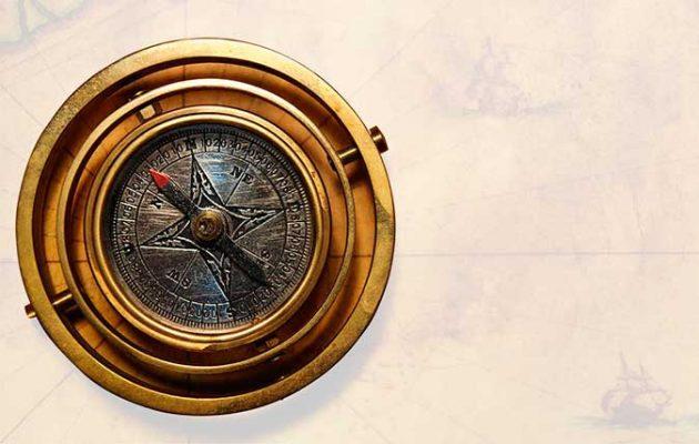 A beautiful compass
