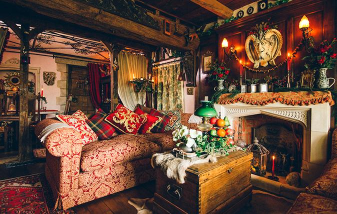 Talliston House: The living room
