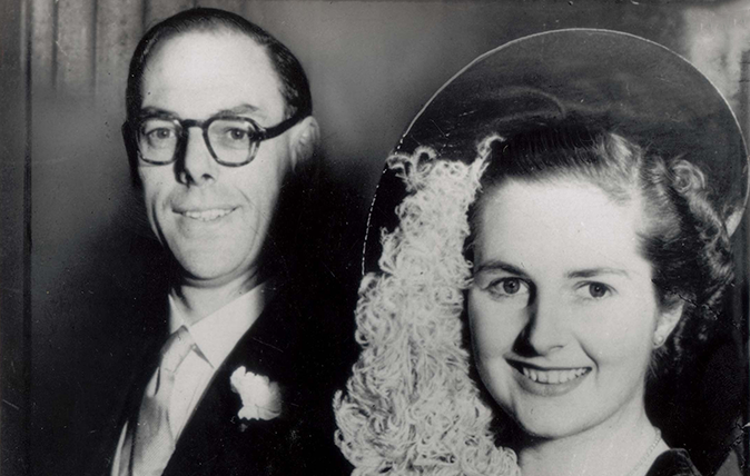 Denis And Margaret Thatcher 13 Dec 1951 - Rex