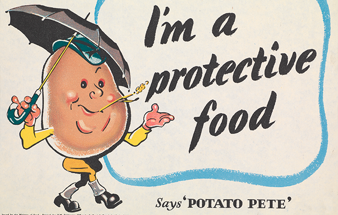 Victory In The Kitchen How Potato Pete Helped Britain