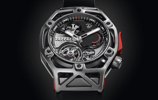 The Hublot - Ferrari collaboration