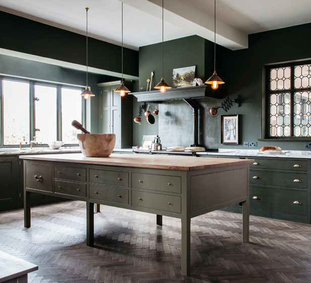 The new kitchen design mantra: Don\'t be afraid of the dark