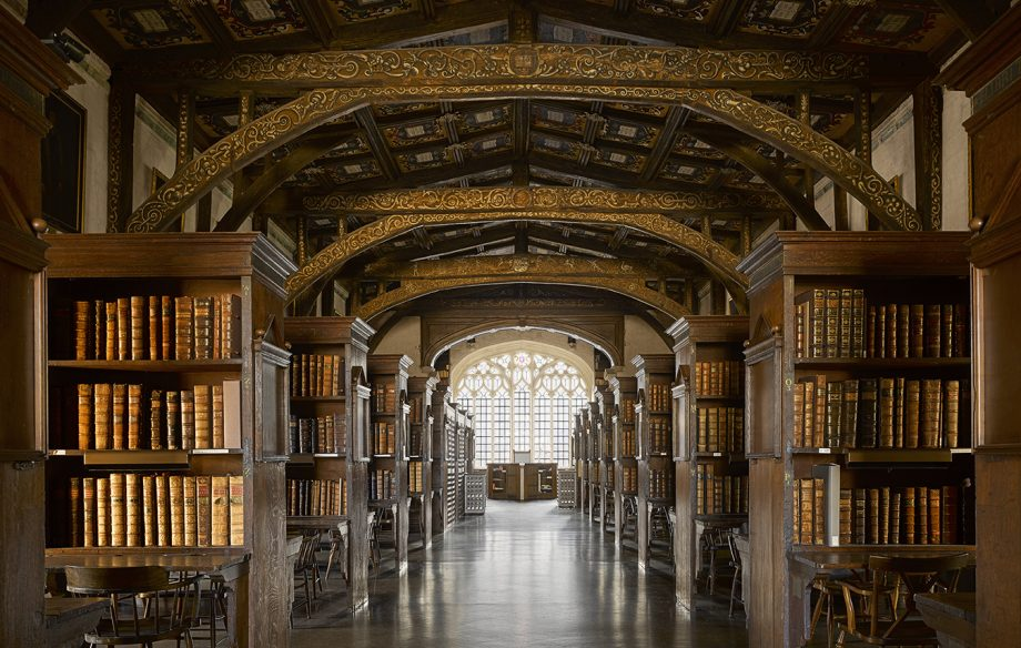 The Bodleian Library and Divinity School. Photographs Will Pryce © Country Life Picture Library