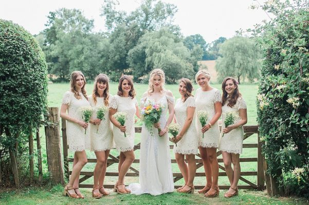 Country life wedding