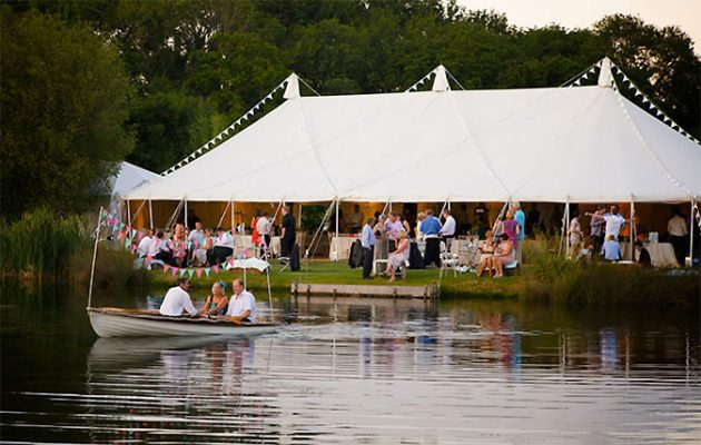 A wedding at Duncton Mill Fishery