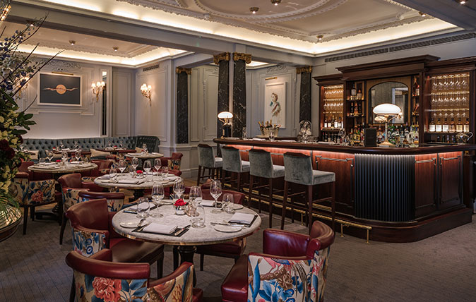 The Game Bird at the Stafford Hotel in Mayfair