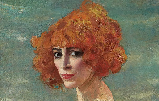 The Marchesa Casati, 1918-19 (oil on canvas) - Joanna Trollope's favourite painting