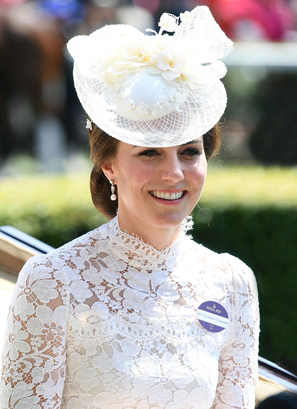 The Duchess of Cambridge during day one of Royal Ascot at Ascot Racecourse 49eda5c6e02