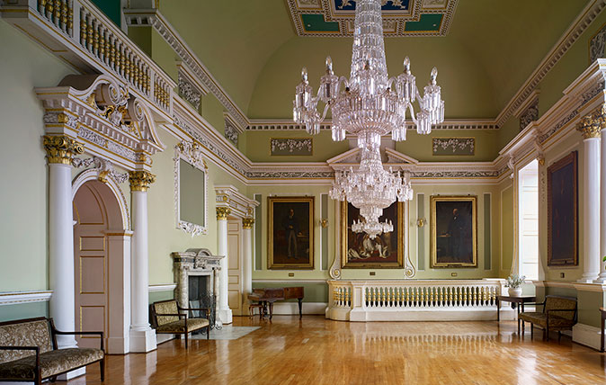 James Paine's masterpiece? The Doncaster Mansion House