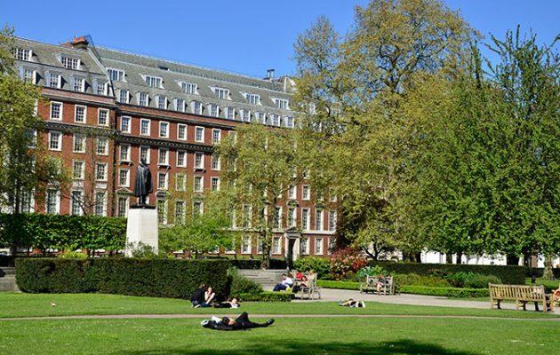 Grosvenor Square (Pic: Alamy)