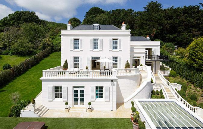 De Montford House on Jersey