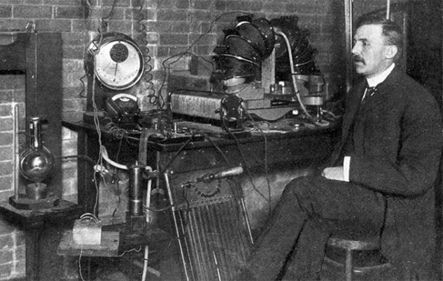 Ernest Rutherford in 1905. Rutherford is known as the Father of Nuclear Physics for the work he carried out at Manchester and later Cambridge.