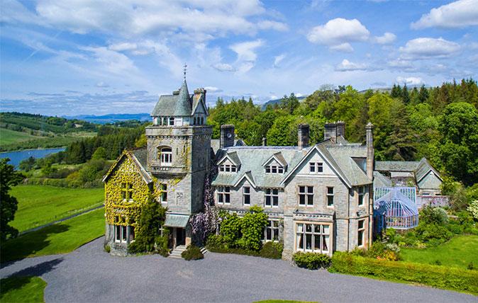 Spectacular Scottish Castles And Estates For Sale