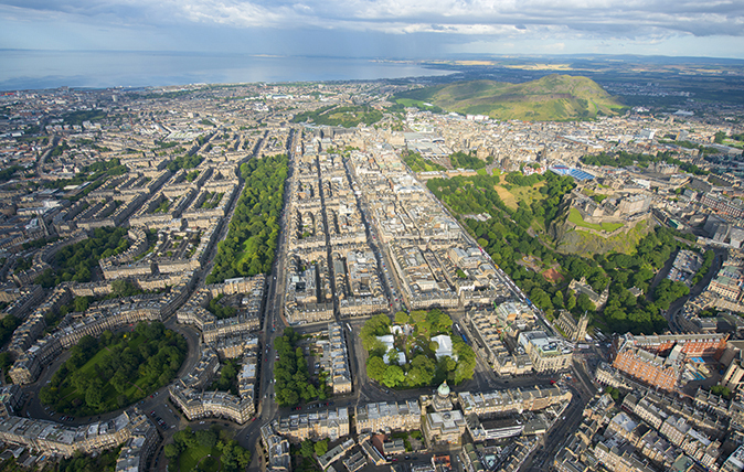 Edinburgh: The 'miracle in stone' in 10 magnificent