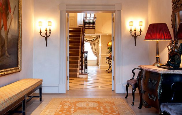 An entrance hall by Janine Stone