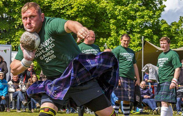 Highland Games (Getty)
