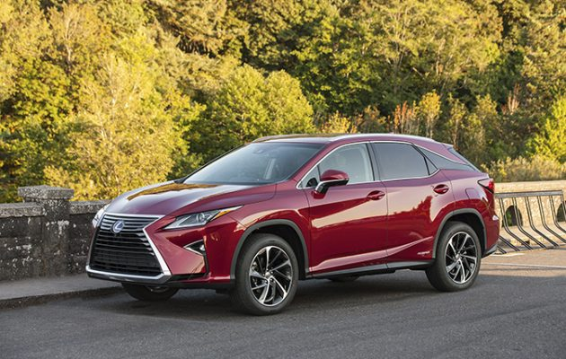 Lexus rx 450h review