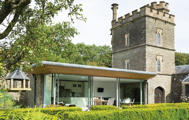 Little Naish The Folly That Went From Dilapidated Garden Shed To Beautiful Modern Home
