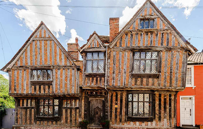 Harry Potter's house in Lavenham