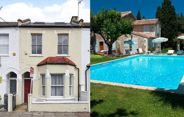 House swap: Putney or the Riviera?
