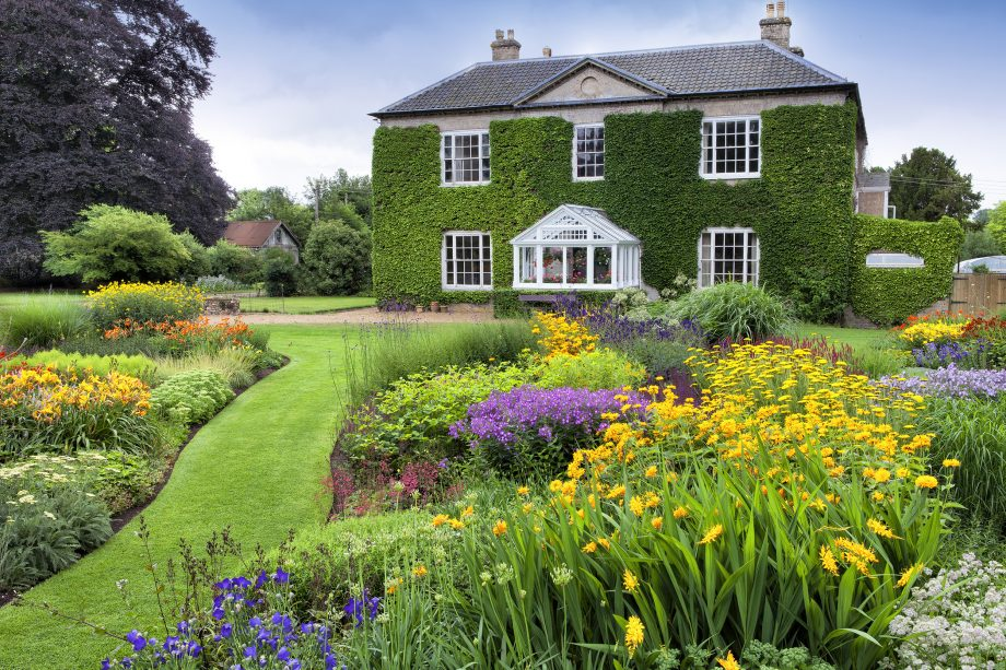 The Dell Garden at Bressingham Hall.