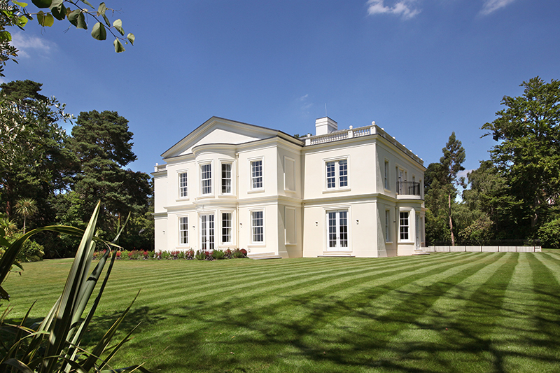 A Magnificent New Mansion With Interiors By Linley And The Best Views In St George S Hill