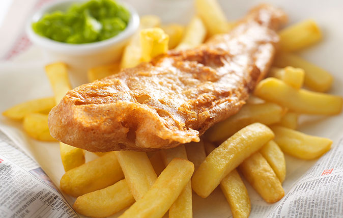 Fish and chips (Alamy)