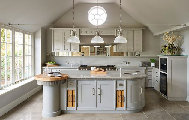 Art deco kitchens an ageing classic look that is still for Modern art deco kitchen design