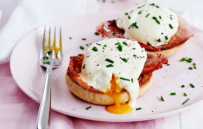 How to make cheat's Eggs Benedict, by The Goring's Shay Cooper
