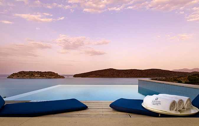 Crete's Blue Palace hotel: A getaway with a 'Polaroid-perfect view around every corner'