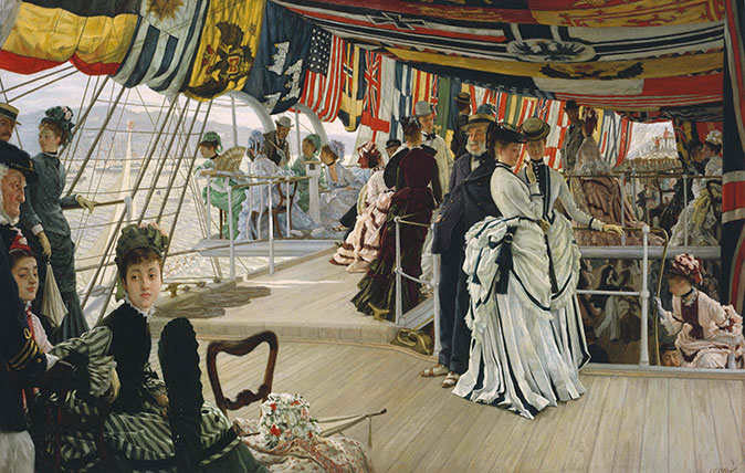 The Ball on Shipboard by James Tissot (1874)
