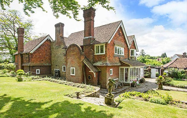 Edwin Lutyens' first commission: The Corner House in Thursley
