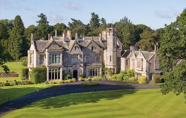 A 22 Bedroom Country Mansion For Sale Complete With Golf