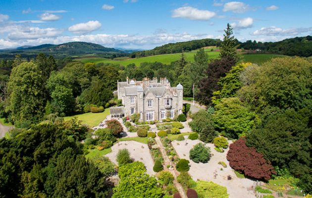 Hensol Is An Impeccable Estate By The River Dee Which Immediately Put Us In Mind Of Balm Queen S Favourite Scottish Residence It Might Be Smaller