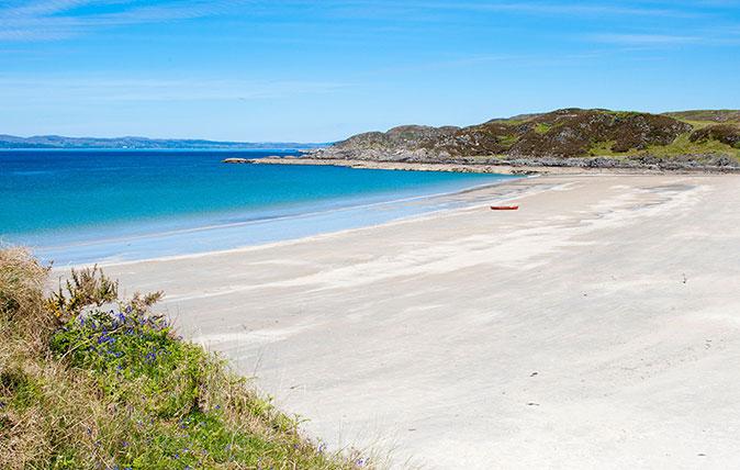 10 of Scotland's most magical white sand beaches
