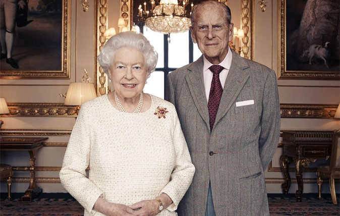 HM The Queen and HRH Prince Philip's 70th wedding anniversary