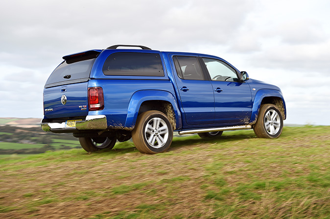 VW Amarok review: The poshest pick-up truck on the road    or field