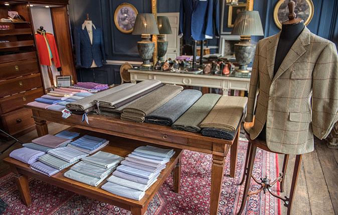 Bespoke tailor's shop