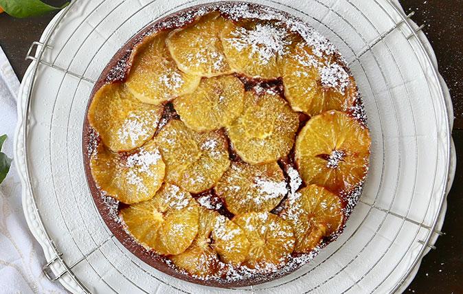 Recipe: Chocolate-and-orange upside-down tea cake – Country Life