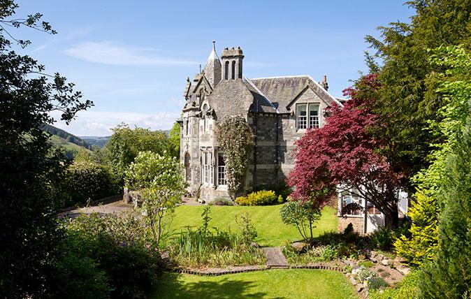 Kirna House, Peeblesshire
