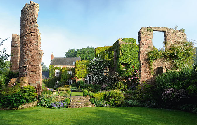The incredible gardens at Wilton Castle, a 900-year-old home