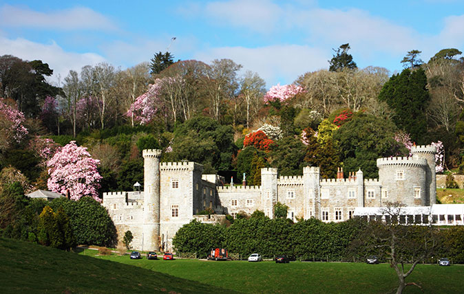 Caerhays Caerhays Castle in Cornwall in Cornwall