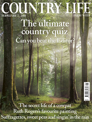 Cover of Country Life February 8 2018